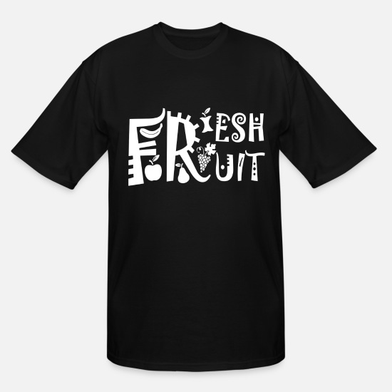 Tree T-Shirts - Fruit - Men's Tall T-Shirt black