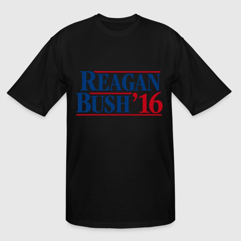 Reagan - Bush '16 - Men's Tall T-Shirt