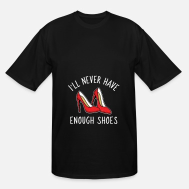 Highheeled Shoes women highheels shoes shopping collect lady - Men's Tall T-Shirt