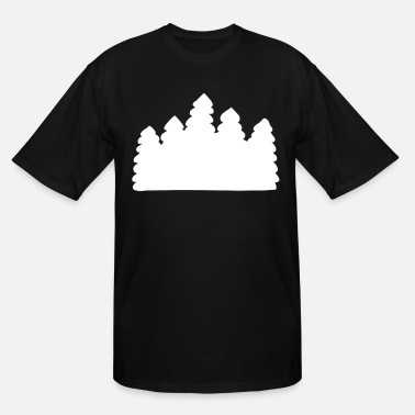 Forest Forest - Men's Tall T-Shirt
