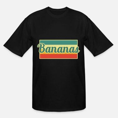 Banana Bananas Banana - Men's Tall T-Shirt