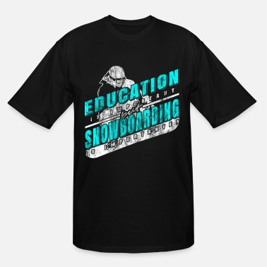 Educator snowboarding education - Men's Tall T-Shirt