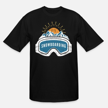 Snowboard Snowboarding - Men's Tall T-Shirt