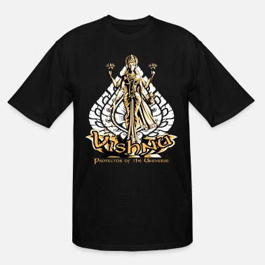 Vishnu Lord Vishnu Design | Hinduism Gift for Believers - Men's Tall T-Shirt