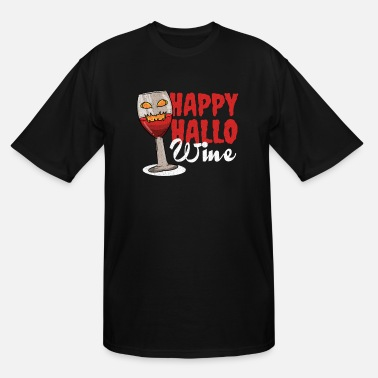 Red Wine Wine red wine Halloween - Men's Tall T-Shirt