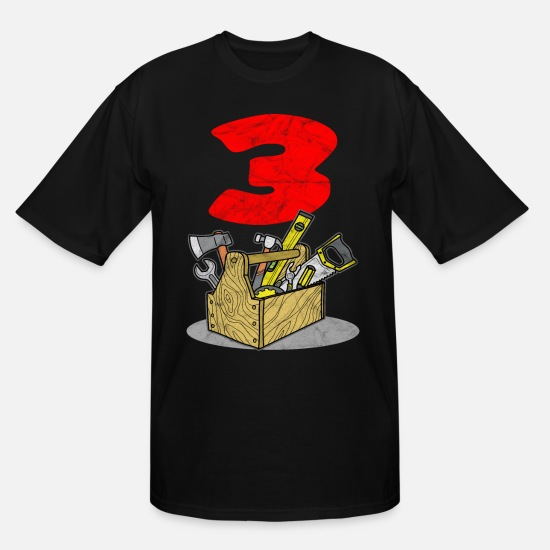 Son T-Shirts - Schreiner son 3 birthday father son - Men's Tall T-Shirt black