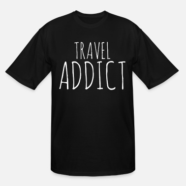 Travel Travel Travel Travel - Men's Tall T-Shirt