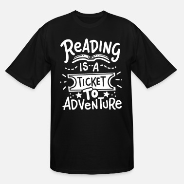 Read Reading Reading Reading - Men's Tall T-Shirt