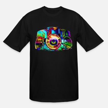 Another Level The Color of Sound. - Men's Tall T-Shirt