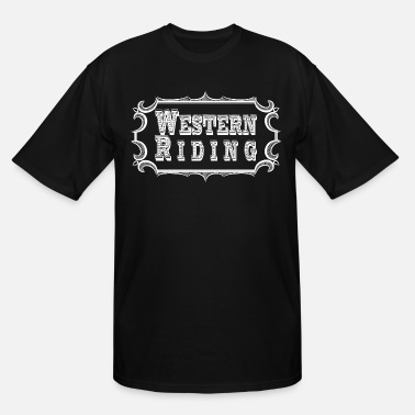 Western Riding Western Riding - Men's Tall T-Shirt