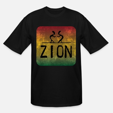 Zion zion - Men's Tall T-Shirt