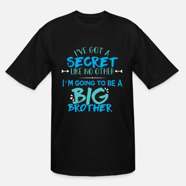 Gender I'm Going To Be A Big Brother Pregnancy Reveal - Men's Tall T-Shirt