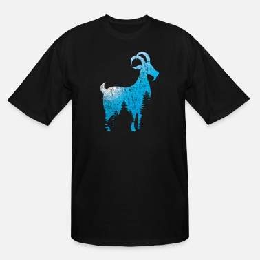 Goat Goat goat animal gift goat - Men's Tall T-Shirt