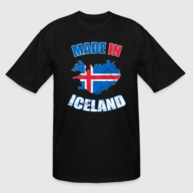 Flag Of Iceland Iceland flag made in Iceland - Men's Tall T-Shirt