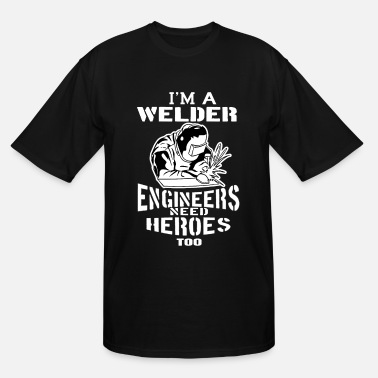 Welding Saying Craftsman Electro MIG TIG Welding Steelworker Weld - Men's Tall T-Shirt
