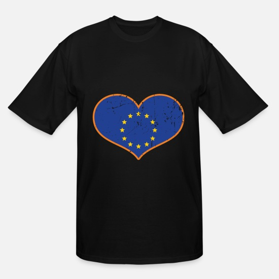 Birthday T-Shirts - Europe EU Gift Brexit - Men's Tall T-Shirt black