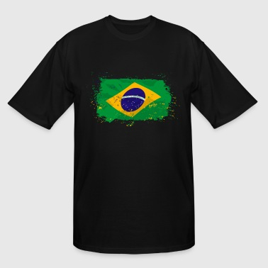 Brazil Flag In Rio Brazil Flag - Men's Tall T-Shirt