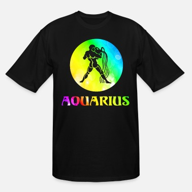 Aquarius Astrology Aquarius Astrological Sign - Men's Tall T-Shirt
