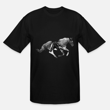 Gallop Horse Gallop - Men's Tall T-Shirt
