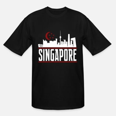 Singapore Singapore 3 - Men's Tall T-Shirt