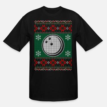449e5d72a333 Bowling Ball Ugly Christmas Sweater - Men's Tall T-Shirt