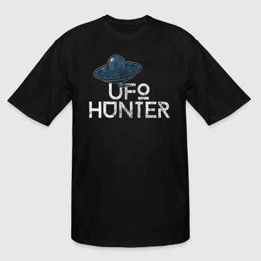 Astronaut Girl UFO Hunter | Space Astronomy Stars Gift - Men's Tall T-Shirt
