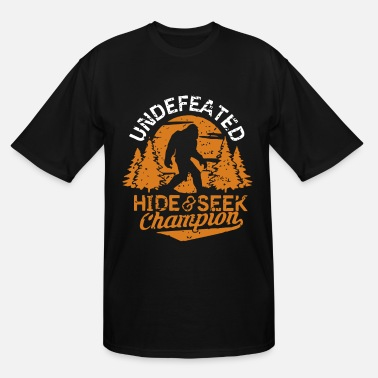 7259f0494 Hide Seek Champion Undefeated hide and seek champion - Men's Tall T