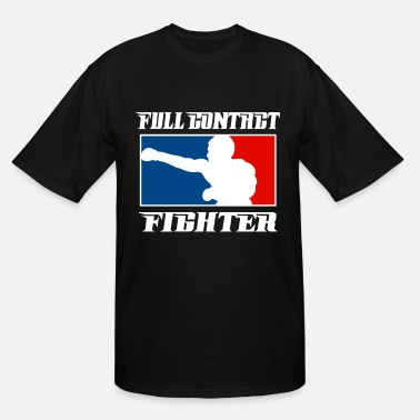 Fighter MMA Full Contact - Men's Tall T-Shirt