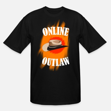 Online Online Outlaw - Men's Tall T-Shirt