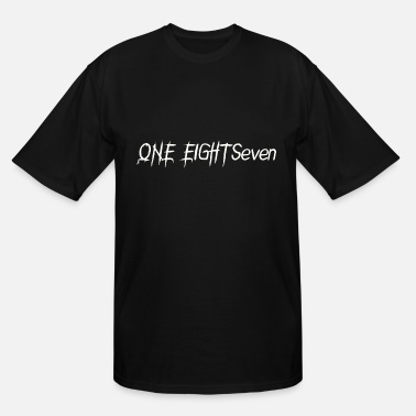 Seven Eight One eight seven 187 - Men's Tall T-Shirt