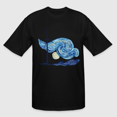 Windy Windy Night - Men's Tall T-Shirt