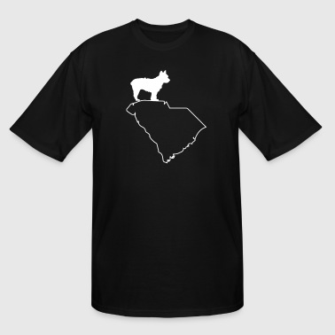 South Yorkshire Yorkie Yorkshire Terrier South Carolina Dog Shirt - Men's Tall T-Shirt
