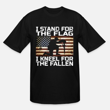 I Stand For I STAND FOR THE FLAG GIFT - Men's Tall T-Shirt