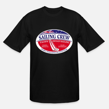 Sail Tops Pacific ocean sailing - Sailing crew - Men's Tall T-Shirt