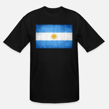 Flag Of Argentina Argentina Flag - Men's Tall T-Shirt