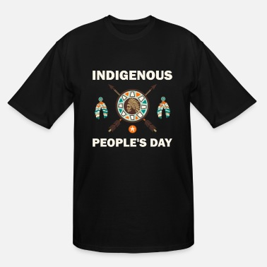 Medicine Indigenous People's Day Native American Pride T- - Men's Tall T-Shirt