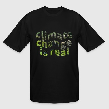 House Warming Global Warming Climate Change Protest  - Men's Tall T-Shirt