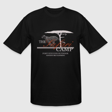 Cheetah - Hunting Leopard - Safari Camp - Men's Tall T-Shirt