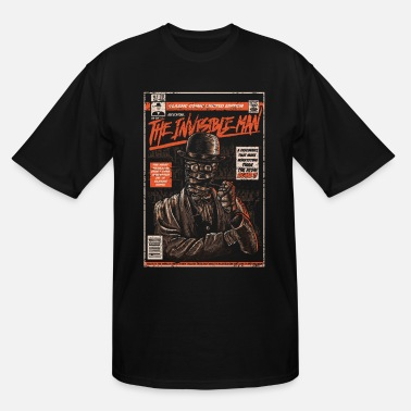 The Invisible Man Comic Book - Men's Tall T-Shirt