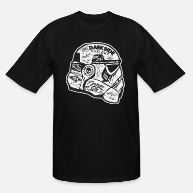 Starwars dark side - Men's Tall T-Shirt