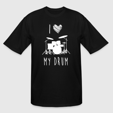 For Drum Lover I Love Drum, Best Shirts For Drum Lover - Men's Tall T-Shirt