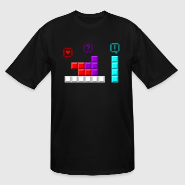 Kinky Tetris - Men's Tall T-Shirt