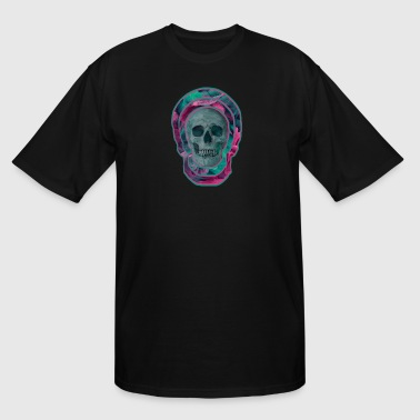Psychedelic skull PA - Men's Tall T-Shirt
