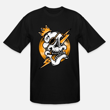 King Skull skull king - Men's Tall T-Shirt