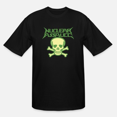 Nuclear nuclear assault - Men's Tall T-Shirt