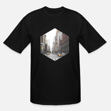 York NYC NEW YORK CITY TAXI - Men's Tall T-Shirt