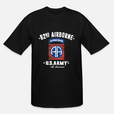 82nd Airborne 82nd Airborne Division Classic police T Shirts - Men's Tall T-Shirt