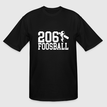 206 Foosball Table Soccer Fan - Men's Tall T-Shirt
