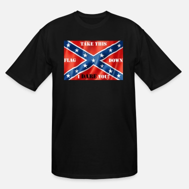 Confederate White Flag Confederate flag2 - Men's Tall T-Shirt