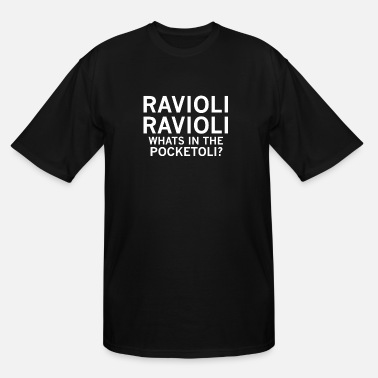 Filthy Frank RAVIOLI RAVIOLI WHATS IN THE POCKETOLI? - Men's Tall T-Shirt
